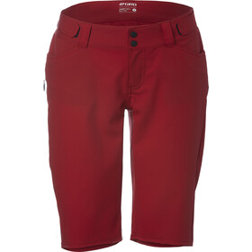 Giro Arc Short Femme, dark red